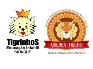 Logo Tigrinhos e Golden Juntos