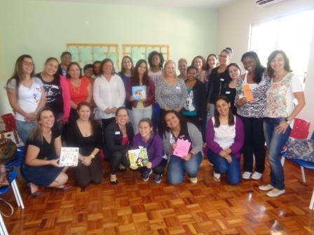 Educadores Sociais participantes do encontro